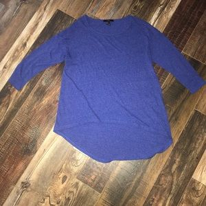 Blue Forever 21 Long Sleeve Shirt